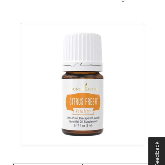 Young living • citrus fresh essential oil